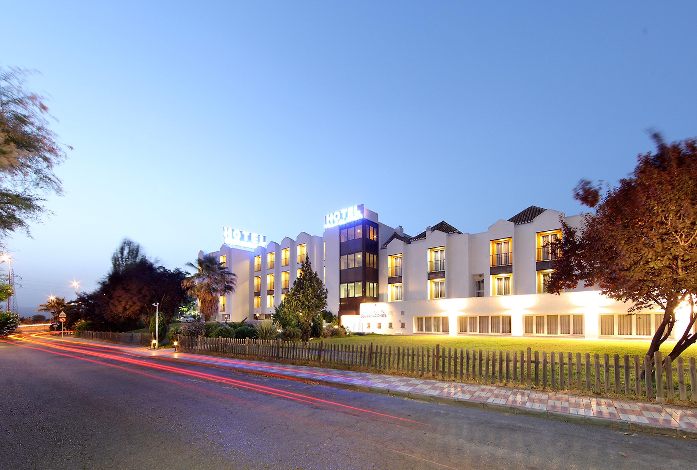 Parking Hotel Villa Blanca Granada